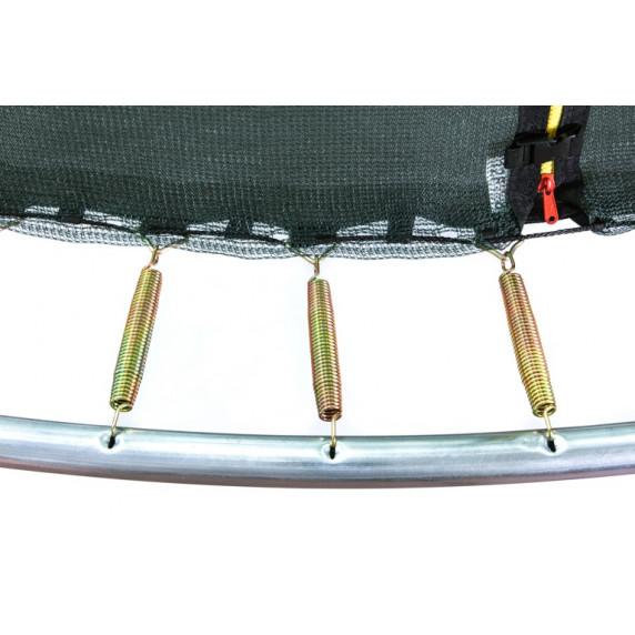Aga SPORT FIT 180 cm trambulin belső védőhálóval -  Rózsaszín