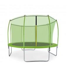 Aga SPORT FIT 366 cm trambulin belső védőhálóval - Világos zöld Előnézet