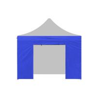 Aga oldalfal ajtóval POP UP 3x3 m - Kék