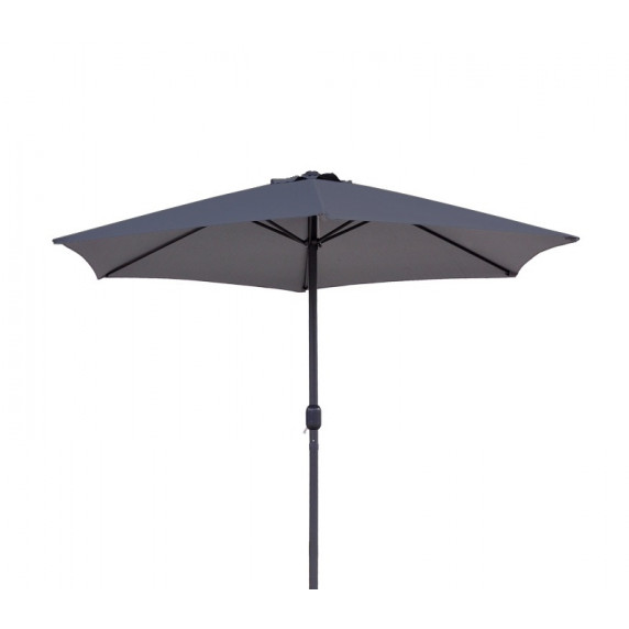 AGA Classic 400 cm napernyő - Sötét szürke