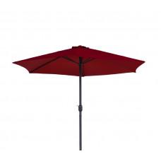 AGA Classic 400 cm napernyő - Sötét piros Előnézet