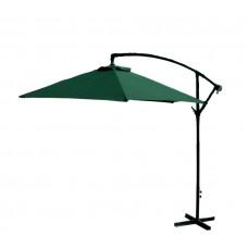 AGA EXCLUSIV Bony 300 cm függő napernyő - Sötét zöld Előnézet