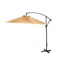 AGA EXCLUSIV Bony 300 cm függő napernyő - Bézs Előnézet