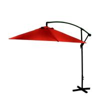 AGA EXCLUSIV Bony 300 cm függő napernyő - Sötét piros