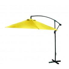 AGA EXCLUSIV Bony 300 cm függő napernyő - Sárga Előnézet