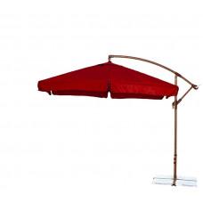 AGA EXCLUSIV Garden 300 cm függő napernyő - Sötét piros Előnézet
