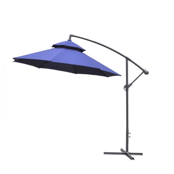 Függő napernyő 250 cm AGA EXCLUSIV CUBE - Sötét kék