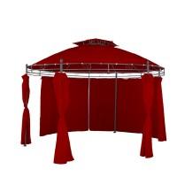 Kerti pavilon LINDER Exclusiv MC3602 - Sötét piros