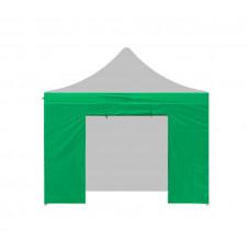 Aga oldalfal ajtóval POP UP 2x2 m - Zöld Előnézet