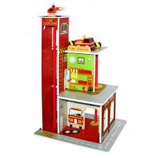 Aga4Kids játékszett FIRE STATION Előnézet