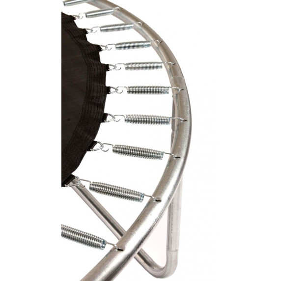 Aga SPORT FIT 180 cm trambulin belső védőhálóval - Sötét zöld