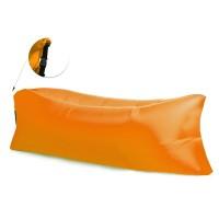 AGA felfújhatós Relax zsák LAZY BAG - narancssárga