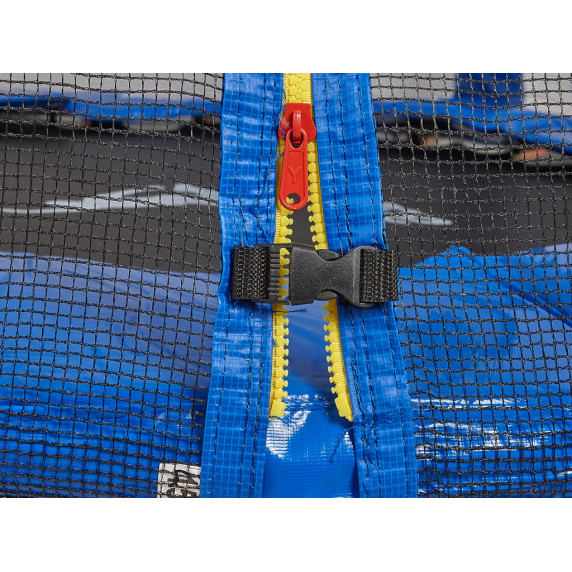 Aga SPORT PRO 430 cm trambulin + létra + cipőzsák - Kék