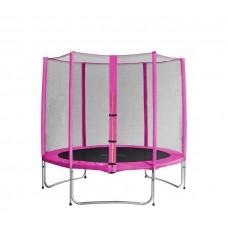 AGA SPORT PRO 305 cm trambulin - Rózsaszín Előnézet