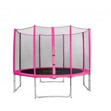 AGA SPORT PRO 366 cm trambulin - Rózsaszín