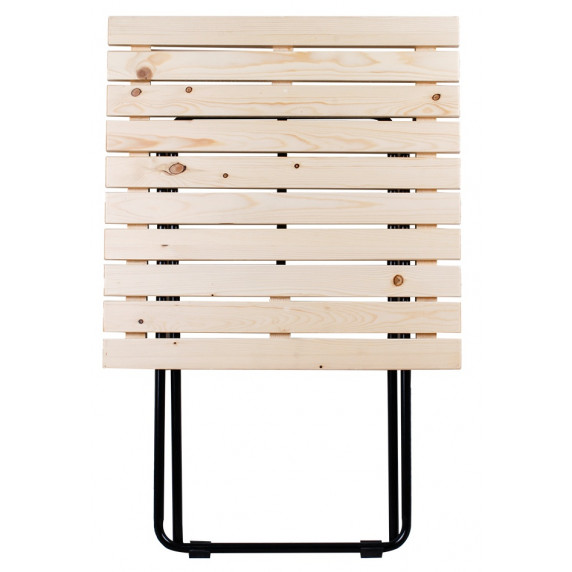 Kerti asztal Linder Exclusiv MC4711 45 x 50 x 45 cm - natúr