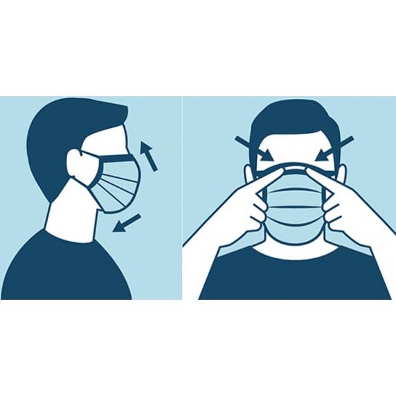 50 db védő arcmaszk Pharma Activ