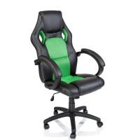 Aga Racing Irodai szék RS013 - Fekete/zöld