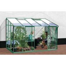 VITAVIA IDA üvegház 6500 PC 4 mm - Zöld Előnézet
