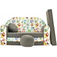 Aga gyerek kanapé MAXX 033 - Állatkás Előnézet