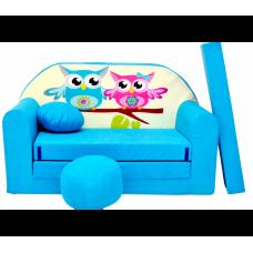 Aga gyerek kanapé MAXX 224 - Baglyos Előnézet