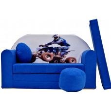 Aga gyerek kanapé MAXX 286 - Quad Előnézet