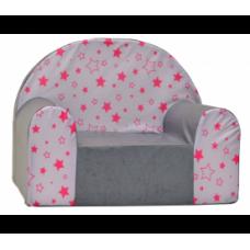 Aga gyerek fotel MAXX 672 - Csillagos/piros Előnézet