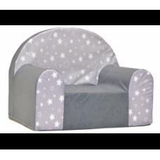 Aga gyerek fotel MAXX 665 - Csillagos/szürke Előnézet