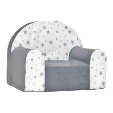 Aga gyerek fotel MAXX 641 - Csillagos/fehér Előnézet