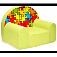 Aga gyerek fotel MAXX 269 - Puzzle Előnézet