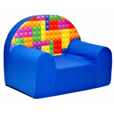 Aga gyerek fotel MAXX 989 - Építőkockás Előnézet