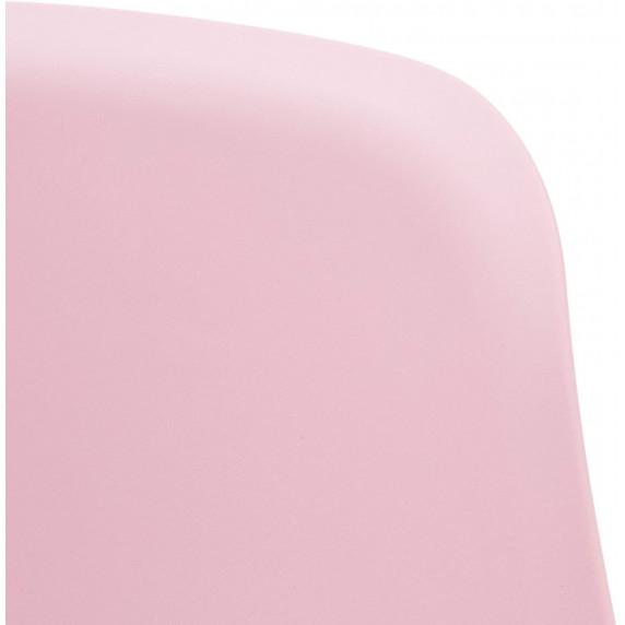 Aga Műanyag étkezőszék 4 db - rózsaszín