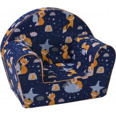 Aga gyerek fotel FBY25 - róka és csillagok Előnézet