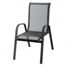 Linder Exclusiv STAPEL kerti szék - Fekete Előnézet