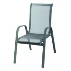 Linder Exclusiv STAPEL kerti szék - Szürke Előnézet