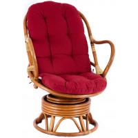 Aga PARUS rattan fotel - Honey Maroon