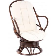 Aga PARUS rattan fotel - Choco White  Előnézet