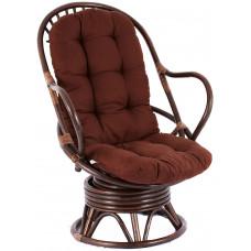 Aga MELES rattan fotel - Choco Dark Brown Előnézet