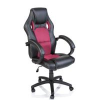 Racing Irodai szék - Fekete/rózsaszín