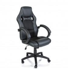 Racing Irodai szék - Fekete Előnézet