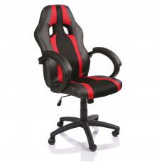 Aga Racing Irodai szék RS021 - Fekete/Piros Előnézet