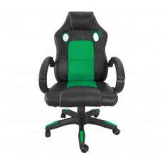 Aga Racing Irodai szék MR2070 - Fekete/zöld Előnézet