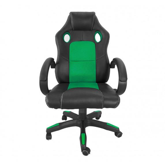 Aga Racing Irodai szék MR2070 - Fekete/zöld