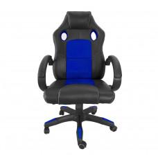 Aga Racing Irodai szék MR2070 - Fekete/kék Előnézet