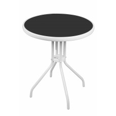 Linder Exclusiv BISTRO MC330850WB kerti asztal 70 cm x Ø60 cm  Előnézet