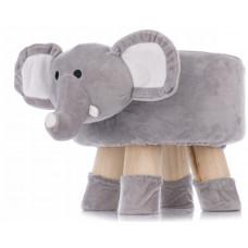 Aga4Kids Gyerek puff - Elefánt Előnézet