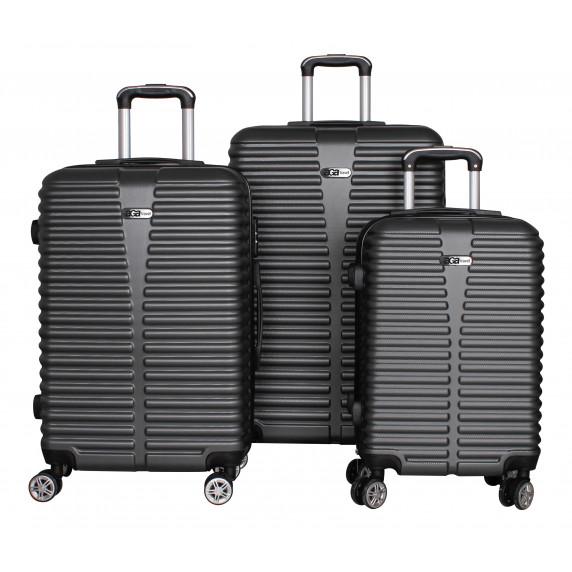 Bőrönd szett Aga Travel  MC3080 S,M,L - Szürke