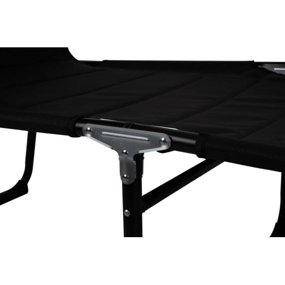 Kerti napozóágy Linder Exclusiv XXL MC4400S - Fekete