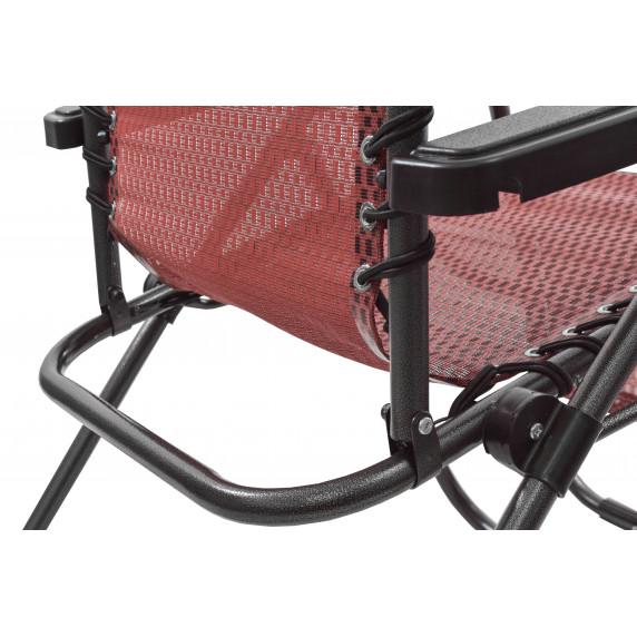 Kerti szék Linder Exclusiv AERO GRT MC3749 - piros/fekete