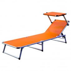 Linder Exclusiv GARDEN KING MC372310O napozóágy - Narancssárga Előnézet